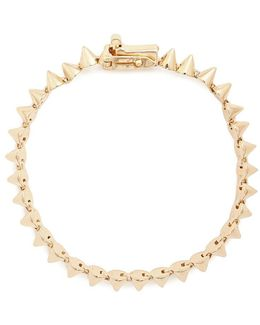 Mini Cone 12k Gold Plated Bracelet