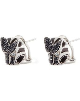 Sapphire Spinel And Topaz Macan Earrings
