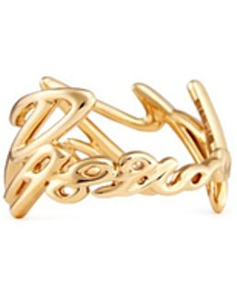 'neon More Passion' 18k Yellow Gold Ring