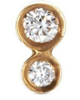 'lulu Diamant' Diamond 18k Yellow Gold Single Earring