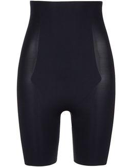 'thinstincts' High Waist Mid Thigh Shorts
