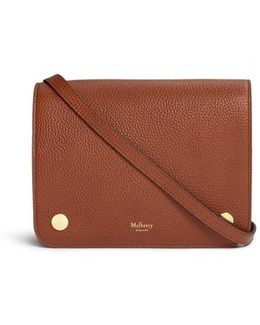 'clifton' Vegetable Tanned Leather Crossbody Bag