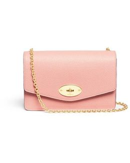 'small Darley' Grainy Leather Chain Bag
