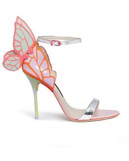 Chiara Metallic Patent-leather Sandals