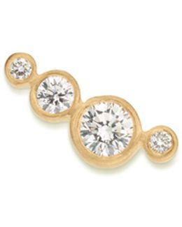 'flacon Diamant' Diamond 18k Yellow Gold Single Earring