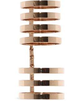 'berbère' 18k Rose Gold Seven Row Linked Ring