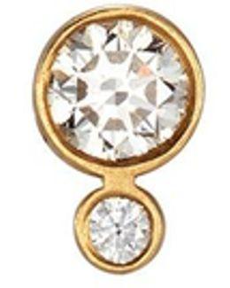 'lulu Claire' Diamond 18k Yellow Gold Single Earring