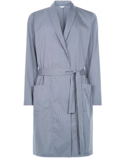 Robe In Stretch Cotton Canvas