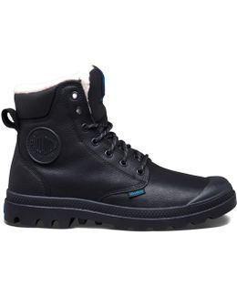Pampa Sport Wps Leather High Top Lace-up Trainers