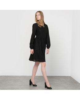 Elena Openwork Dress