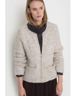 Bouclé Knit Jacket