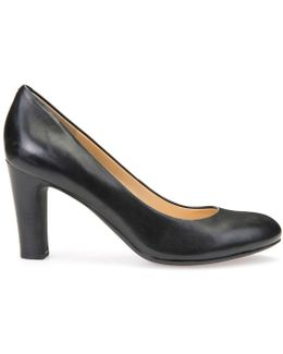 D N Mariele H High-heeled Leather Court Shoes