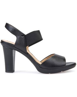 D Jadalis A Heeled Sandals