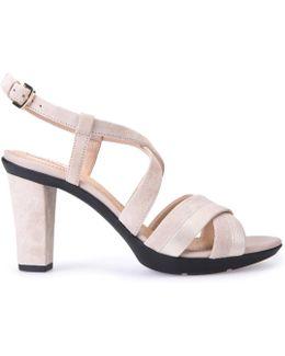 D Jadalis B Heeled Sandals
