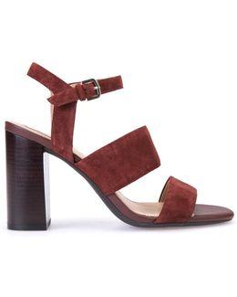 Audalies Suede Sandals