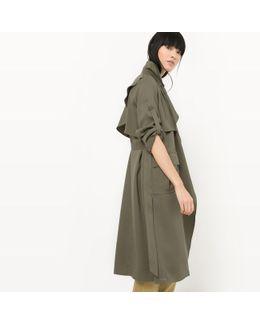 Long Lyocell Raincoat