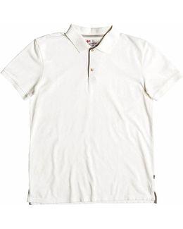Plain Cotton Piqué Polo Shirt