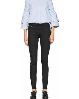 Slim Fit Cigarette Trousers