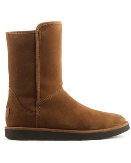 Ugg Australia Abree Short Ii Chestnut Suede Ankle Boot