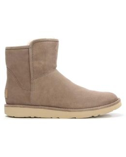 Ugg Australia Abree Mini Clay Suede Ankle Boot