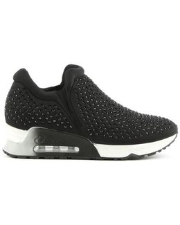 Lifting Black Neoprene & Gemstone Trainer