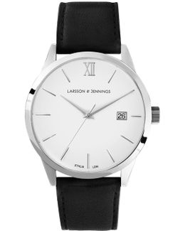 Saxon Automatic Aii Black And Silver Mechanical Watch