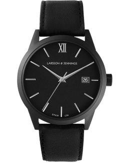 Saxon Automatic Aiii All Black Mechanical Watch