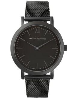 Women Zs Lugano 33mm Black Designer Watch