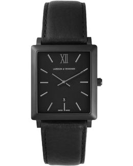 Norse 27x34mm Black Square Watch