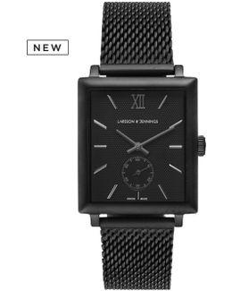 Norse 42mm Mechanical Black Designer Watch.