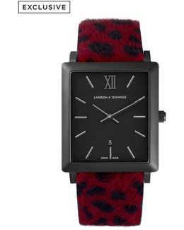 Norse 42mm Dalmation Print Designer Watch