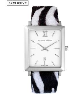 Norse 42mm Zebra Print Designer Watch