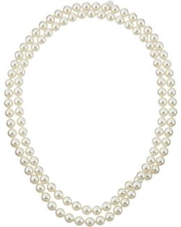 Single-row Endless Pearl Necklace