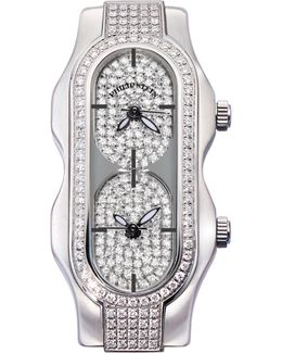 Mini Signature Double Diamond Watch Head