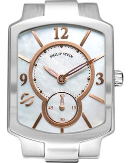 Small Classic Mother-of-pearl & Rose Gold Watch Head