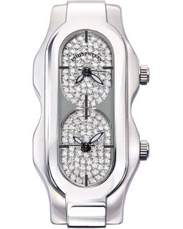 Mini Signature Watch Head With Diamond Dial