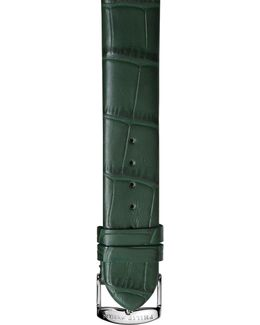 Alligator-print 20mm Watch Strap