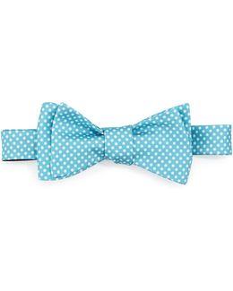 Crowded-dot Silk Bow Tie