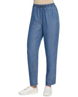 Ronna Drawstring-waist Pants
