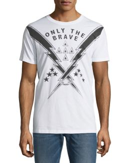 Only The Brave Cotton Tee