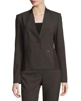 Juliann One-button Blazer Jacket