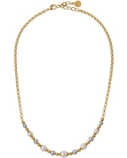 Callie Beaded Pearl Necklace