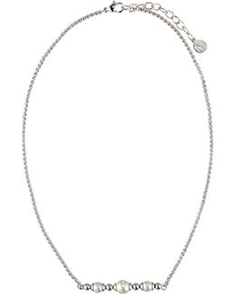 Allison Pearl & Ball Bead Necklace