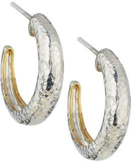 Hoopla Small Tapered Hoop Earrings
