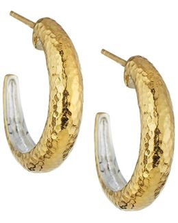 Hoopla Small Tapered Hoop Earrings
