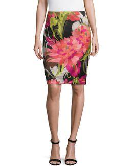 Chrissy Floral-print Skirt