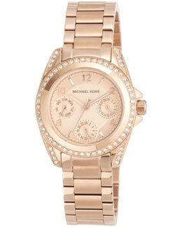 33mm Mini Blair Glitz Chronograph Bracelet Watch