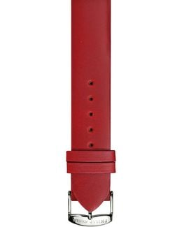 20mm Calf Leather Watch Band