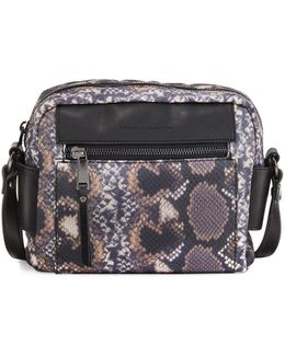 June Nylon Printed Crossbody Bag