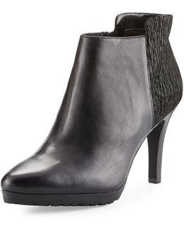 Gordan Leather/suede Bootie